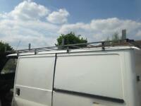 Ford transit Swb low roof full length galvanised roof rack