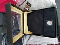 Stone island hat and scarf set