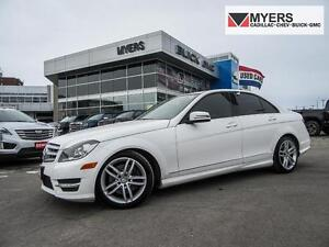 2013 Mercedes-Benz C300 AWD/SUNROOF/SUMMER & WINTER TIRES!