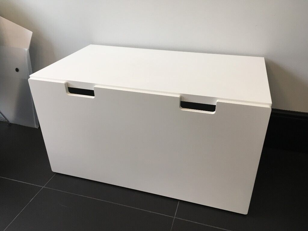 Excellent Immaculate Like New Ikea Stuva Fritids Bench Trunk Toy Storage White In Kingston London Gumtree Gamerscity Chair Design For Home Gamerscityorg