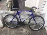 Columbia KOM gents mountain bike 18 gears 20 inch frame 26 inch wheels