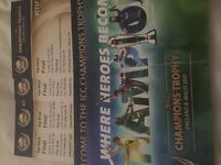 4 Tickets seated together. Pakistan vs India ICC Final