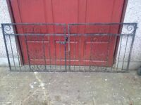 Iron gates 40 years old