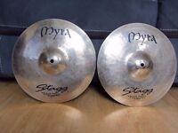 "Stagg Myra 13"" Rock Hi-Hat Cymbals"