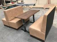Reception bench upholstery desk restaurant reupholstery bespoke chairs sofas