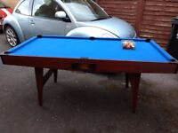 POOL TABLE 6X3 ft - FREE TO COLLECTOR