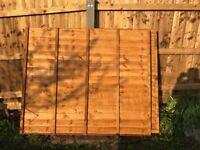2 garden fence , brand new,