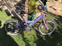 Child's bike aged 7-9 yeats
