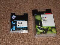 HP 364 Original Printer Cartridges 1 X 4 Colour Multipack and 1 X Black