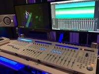 Mixer Controller and extensions (ICON) Audio interface Studio Setup