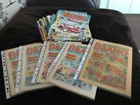 Job Lot Beano Comics Some Vintage