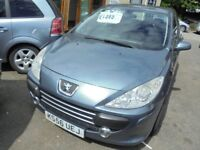 PEUGEOT 307 1360cc S 5 DOOR HATCH 2007-56, LOADS OF SERVICE HISTORY INCLUDING A CAMBELT DONE