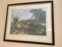 FLATFORD MILL by John Constable framed print