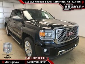 Used 2015 GMC Sierra 1500 Denali-6.2L V8, Navigation, Full Histo