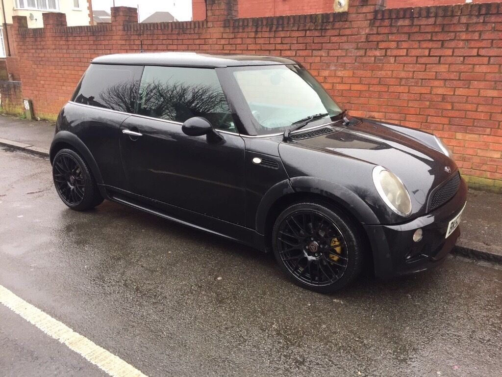2002 mini cooper 1 6 jcw aero kit black