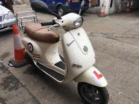 PIAGGIO VESPA ET4 cream 125cc excellent runner 2001 hpi clear!!