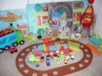 Happyland toys & toy storage box £35