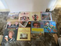 A NICE CLASSIC ,COLLECTION OF 11 CLASSICAL MUSIC VINYL LP'S / DECCA RECORDS ETC , GOOD