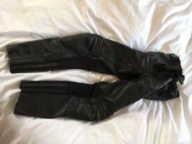 Heine Gericke Mens motorcycle leather trousers