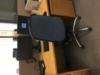Office workstation. Desks, chairs, peds are free to a charity/Schools to pick up or £45 per set