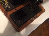 Sewing machine old Singer
