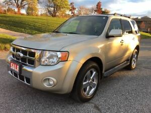 2010 Ford Escape Limited|Accident Free|Sunroof|Leather|