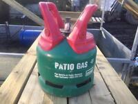 Callie gas patio bottle empty £15