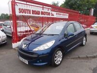 *PEUGEOT 207 SE 1.6*ALLOYS*SERVICE HISTORY*FULL YEARS MOT*LOW MILEAGE*BARGAIN AT ONLY £1895*