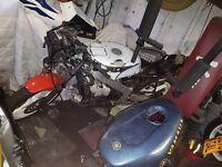Honda Nsr 250 project