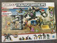 Transformers destruction site Devastator Lego (new)