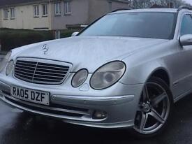2005 MERCEDES ESTATE AUTOMATIC E270 CDi AVANTGARDE A 2.7 DIESEL SILVER 5 DOOR ( SPARE OR REPAIR )