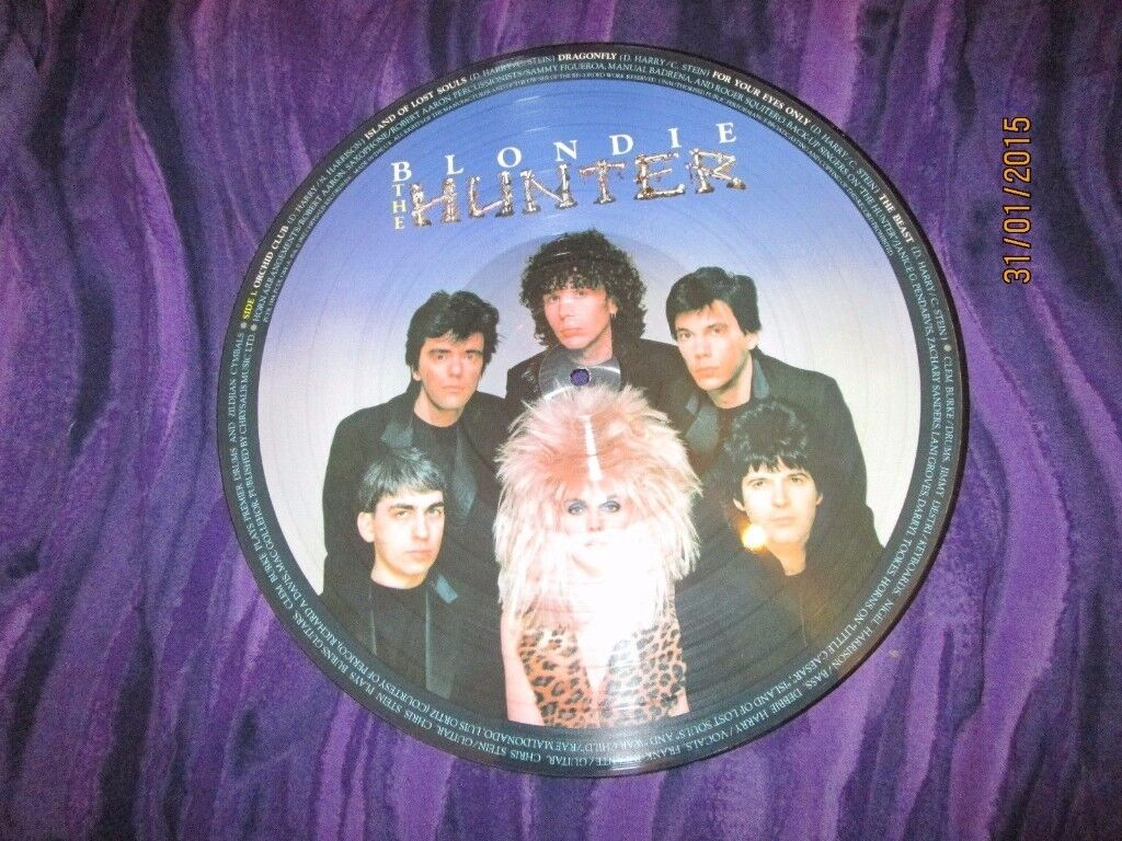 BLONDIE / DEBBIE HARRY THE HUNTER PICTURE DISC LP HAVE OTHER BLONDIE STUFF FOR SALE