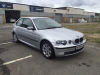 2004 BMW 316ti compact 12 months mot