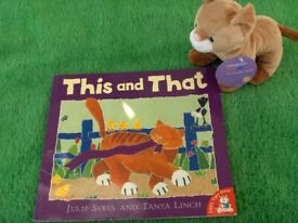 Pre School Children Love Books Like This and That plus Toy Cat