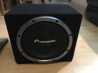"Pioneer Bass Box 10"" 1200W"
