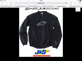 Alpinestars over jacket
