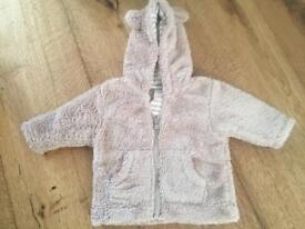 Next baby bear coat 0-3