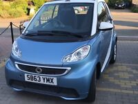 63 Plate Convertible Smart Fortwo passion mhd auto