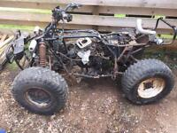 Kawasaki KLF 300 4x4 quad. Selling whole quad, but only good for spares.