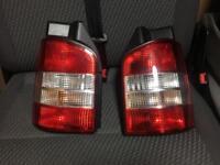 Vw t5 t5.1 facelift rear lights for tailgate
