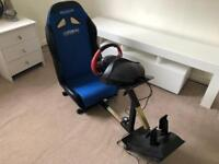 Xbox one gaming chair with wheel