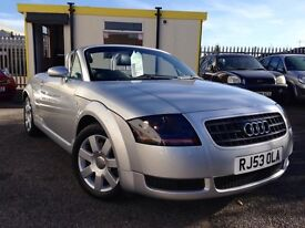 BEUTIFUL AUDI TT 150BHP SERVICE HISTORY WITH CAMBELT REPLACE//HPI CLEAR
