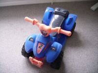 CHILDS QUAD BIKE BATTERY POWERED AGE 2+ YEARS