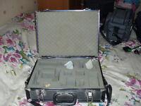 black alum camera case
