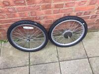 Wheels for child's bike