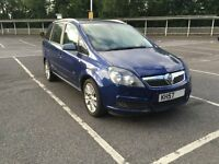 VAUXHALL ZAFIRA 1.9 DIESEL DESIGN SPARES OR REPAIR BREAKING FOR PARTS BLUE 2005-2011 ALLOYS DOORS