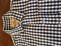 Men's Hollister checked shirt