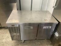 Commercial bench counter pizza fridge for shop pizza meat jsjsj
