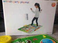Animals party playmat. Hardley used. £10 collection only