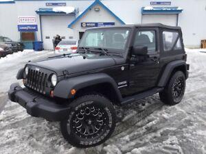2013 Jeep Wrangler Sport **45 132 Km** Mags + Pneus